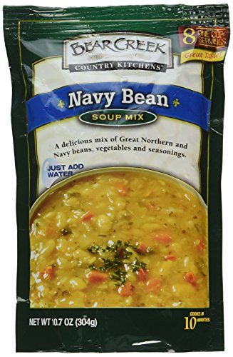 Navy Bean Soup (Bear Creek Mix Soup Navy Bean, 10.7 oz)
