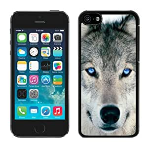 Design iphone 5/5s Case ,Wolf iphone 5 5s case white cover
