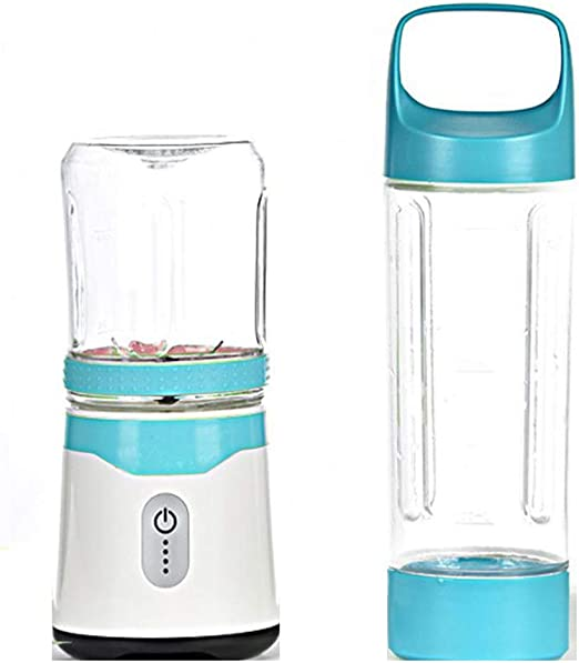 PHY Mini Blender Blender Personal con 2 Botellas De Viajes Tritan ...