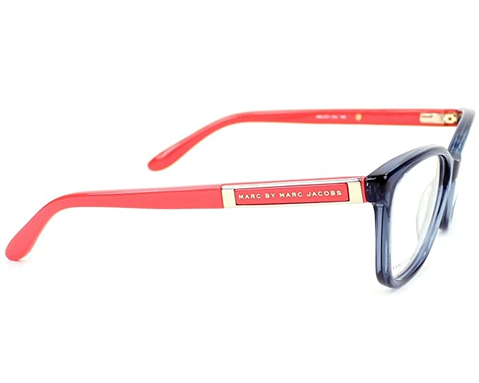 60fa574f9d48 Amazon.com: Marc by Marc Jacobs eyeglasses MMJ 571 C4L Acetate Blue Coral:  Clothing