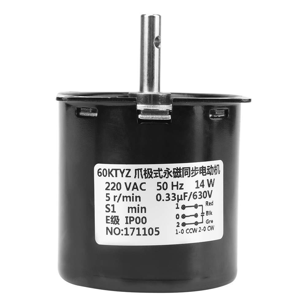 cr-ac 220/V 14/W reducci/ón s/íncrono Motor Motor con engranaje reductor Engranaje D/émultipli/é