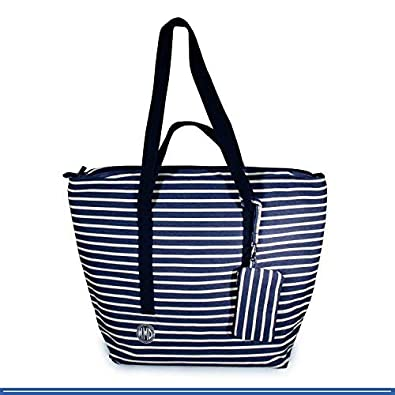 Amazon.com  Large Beach Tote Bag, Designer for Women, Girls, Men ... e0b051873f