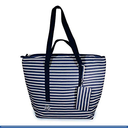Large Beach Tote Bag, Designer for Women, Girls, Men. Canvas Big Universal Bag
