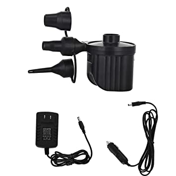 240V Electrical Air Pump Lightweight Portable 3 Valve Adaptors Great Value!
