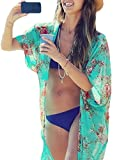 Yonala Summer Womens Beach Wear Cover up Swimwear Beachwear Bikini,One Size,Green Reviews