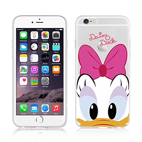 307 opinioni per Disney Daisy transparente in poliuretano termoplastico per iPhone-Cover per
