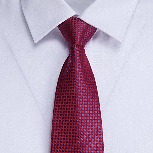 Ecotrump Lazy Ties Zipper Formal Business 8cm Simplicity Men Party 2 Neck Ties rq48rw
