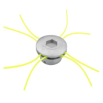 Cortador de Cabeza de Aluminio Universal Accesorios de Cortacésped Herramienta de Poder Jardín de Césped Espacio