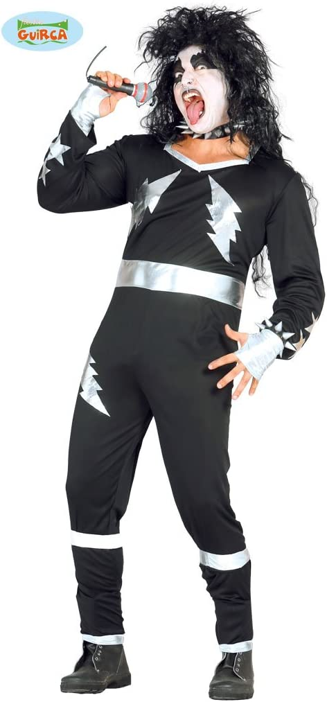 Disfraz de Rockero adulto talla 48-52: Amazon.es: Juguetes y juegos
