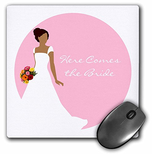 3dRose LLC 8 x 8 x 0.25 Inches Mouse Pad, Soccer Ball (mp_165871_1) by 3dRose