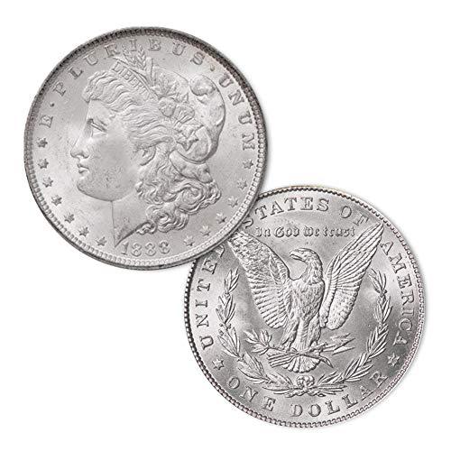 (1888 P Morgan Silver Dollar $1 Brilliant Uncirculated)