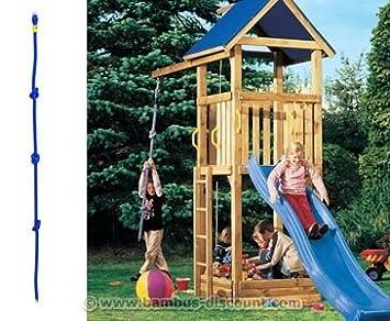 Berühmt Kletterseil mit 3 Knoten für Spielturm, 200cm - Kinderspielgeräte MF15