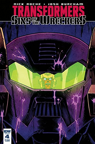 TRANSFORMERS SINS OF WRECKERS #4 (OF 5)