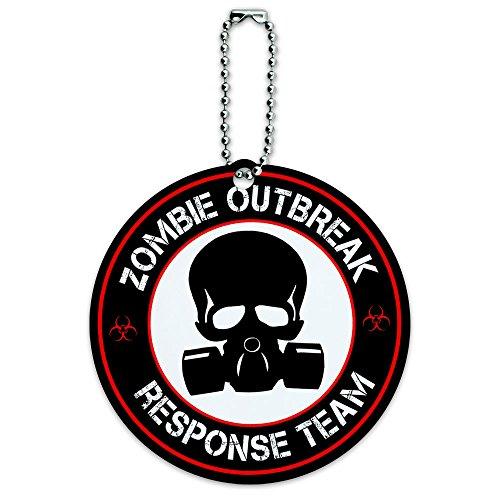 Zombie Outbreak Response Luggage Suitcase