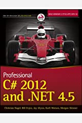 Professional C# 2012 and .NET 4.5 Paperback