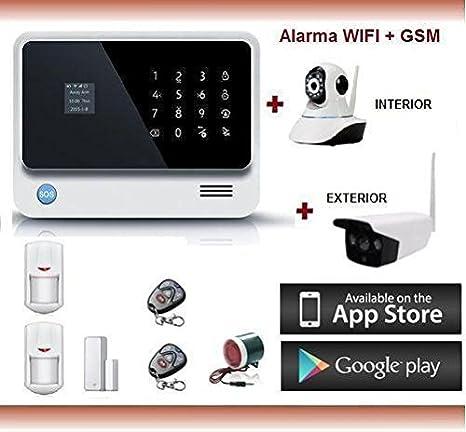KIT ALARMA SIN CUOTAS WIFI + GSM + GPRS + IP Cámara + Voz y Manual en castellano: Amazon.es: Bricolaje y herramientas