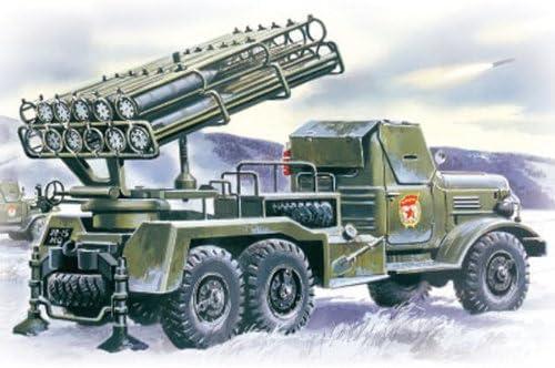 Launch Rocket System Mult ICM ICM72591 1:72-BM-24-12