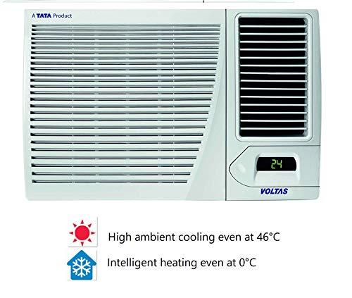 Voltas 1.5 Ton Hot & Cold Window AC (Copper 18H CZP White) 2