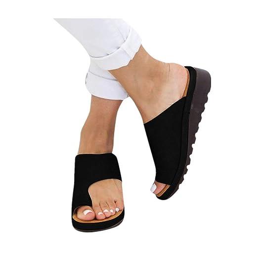 efd9188f9 Amazon.com: Dressin Women's Sandals 2019 New Women Comfy Platform ...