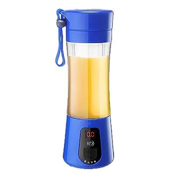 Kitchen Appliances Exprimidor portátil para el hogar, Mini Vaso exprimidor eléctrico, Exprimidor pequeño Recargable, Mezclador físico multifunción, ...