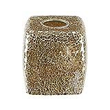 Tissue Box Rich Gold Mosaic Glass Tiles