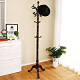 HOMEE Solid Wood Home Creative Clothes Hanger Simple Modern Coat Racks Bedroom Floor Fashion Hangers (2 Colors Available),#2