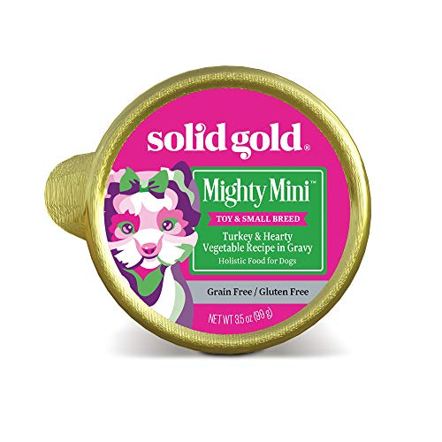 Solid Gold - Mighty Mini Toy Breed Wet Food - Real...