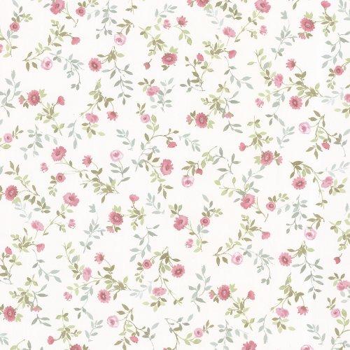 brewster-487-68882-sophie-floral-toss-wallpaper-pink