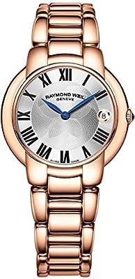 Raymond Weil Women's Quartz Stainless Steel Dress Watch, Color:Rose Gold-Toned (Model: 5235-P5-01659)