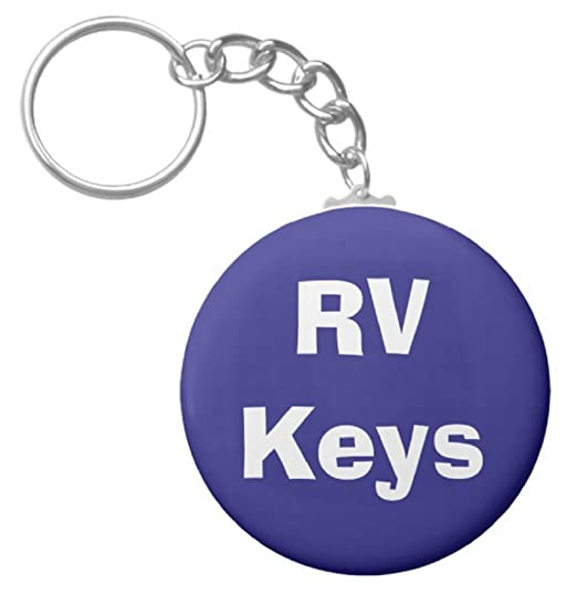 "A&T Designs RV Keys 2 25"" Keychain Recreational Vehicle Motor Trailer Home"