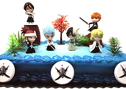 Bleach Anime Cake Topper