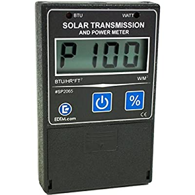 Solar Transmission & BTU/Watt Power Meter - 100% Made in USA