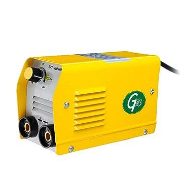 Fesjoy Mini m/áquina de soldadura el/éctrica,dom/éstica port/átil IGBT DC Inverter ARC MMA Stick Welder ZX7-200 220V