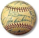 1948 American League All-Star Autographed Baseball Joe DiMaggio Ted Williams COA
