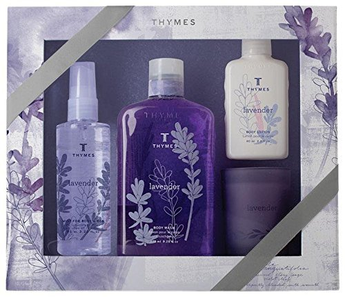 Thymes Lavender Gift Set - Gift Lavender Thymes