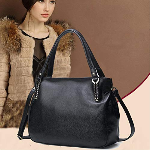 de Commute Femenino Retro Hombro Color Las Messenger de Bag Bag Wild Bags de Hobo Xuanbao Crossbody Negro Negro Totes Simple Femenino Tote Shoulder Gran seoras Almacenamiento Bolso Bags Lady Capacidad ETn0P