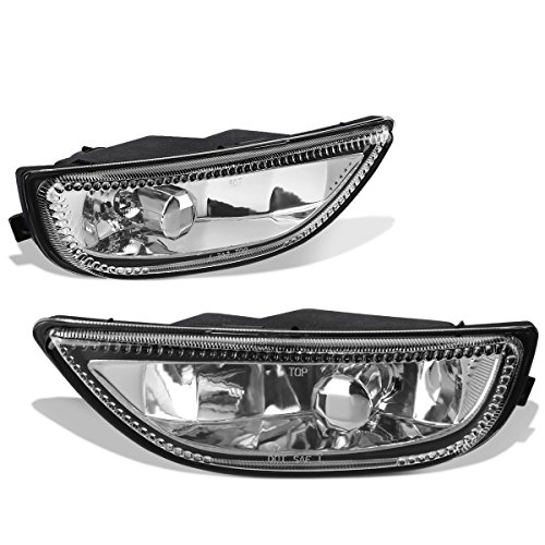 For Corolla Pair of Bumper Driving Fog Lights (Clear Lens)