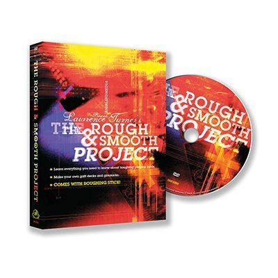 Big Blind Media Magic Trick | The Rough and Smooth Project (DVD and Roughing Stick) by Lawrence Turner | Card Magic | Trick Decks | Close Up