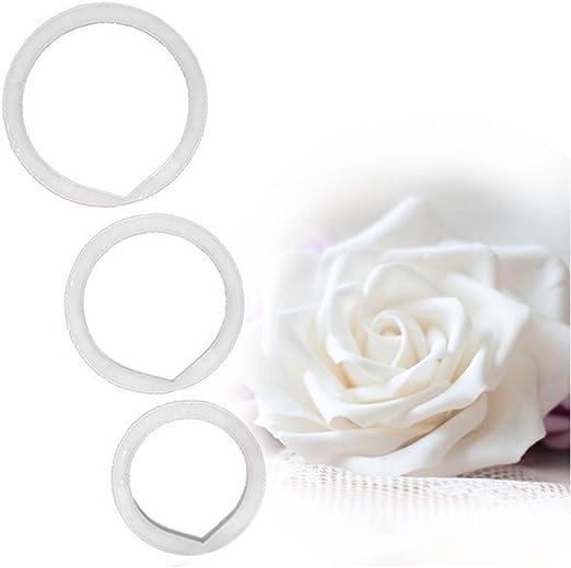 FMM Sugarcraft Rose Leaf Cutter Set de 3