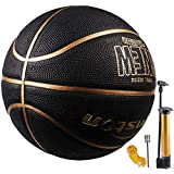 "Senston Basketball 29.5"" Outdoor Indoor Mens Basketball Ball Official Size 7 Composite Basketballs"