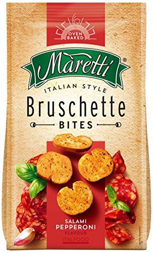 Maretti Bruschette Salami Pepperoni, 6er Pack (6 x 150 g)