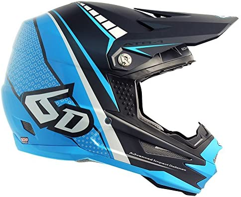 Amazon.com: 6d ATR-1 Edge Moto Cascos, 2XL, Azul: Automotive