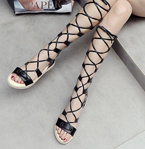 Mode Tige Femme Haute Aisun Ajourer Lac q56pwFCF