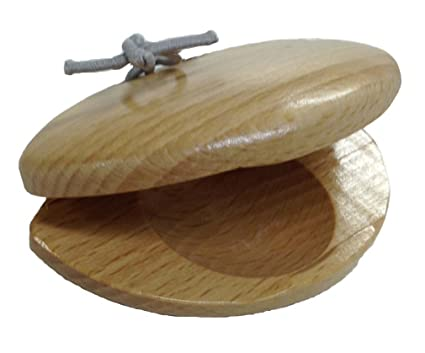 Japanese Natural Wood Castanet