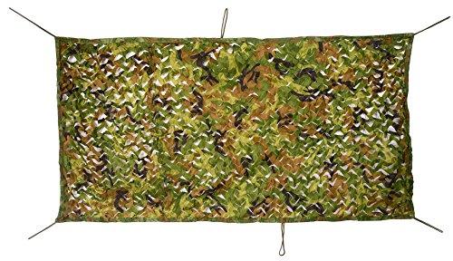 NINAT Tarnnetz Camouflage Netz Wei/ße Jagd Tarn Waldlandschaft Outdoor Bundeswehr tarn Armee Bundeswehr Army Camo Tarnung Net BW Camping 1.5 x 4M,2x3M,2X5M,3X3M,4X5M,6X6M MEHRWEG Paket