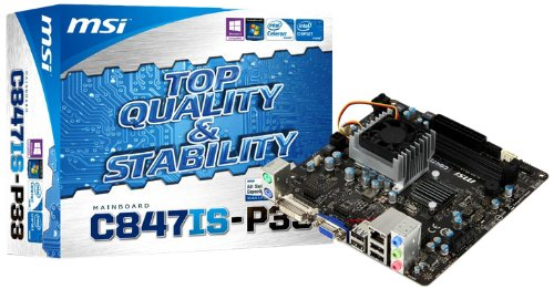 Photo - MSI Computer Corp.    DDR3 1333 Intel  LGA 1155 Motherboard C847IS-P33