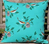 Organic Charley Harper Red Eye Vireo Pillow Cover