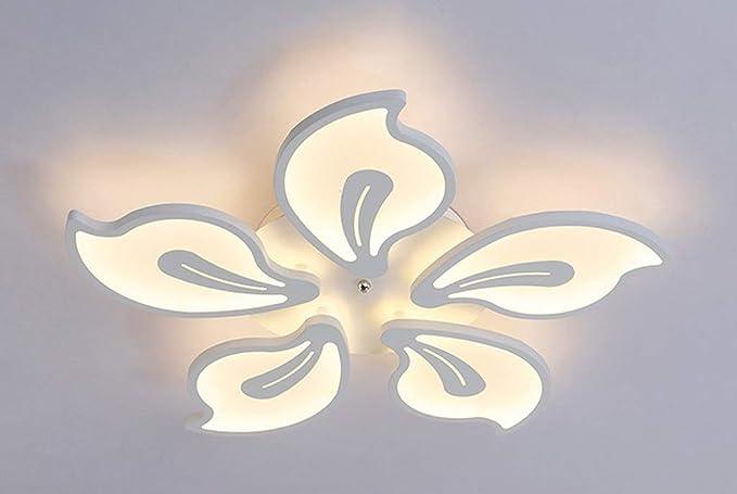 Plafoniera Ufficio Design : W led plafoniera fiore lampada soffitto modern in acrilico