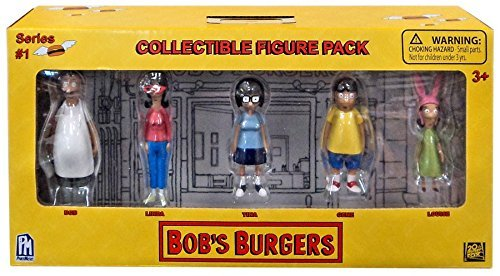 Bob's Burgers Mini Figure 5 Piece Box Set