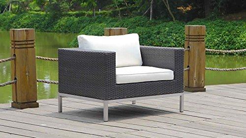 talfa silva polyrattan sessel wei g nstig. Black Bedroom Furniture Sets. Home Design Ideas